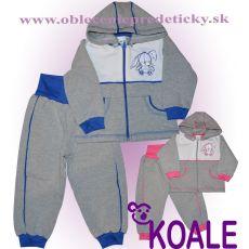 Tepláková súprava pre kojenca Zajačik 62 31e6db4c906